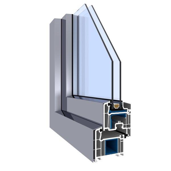 Fenster fachhandel veka softline mit alu vorsatzschale for Fenster veka