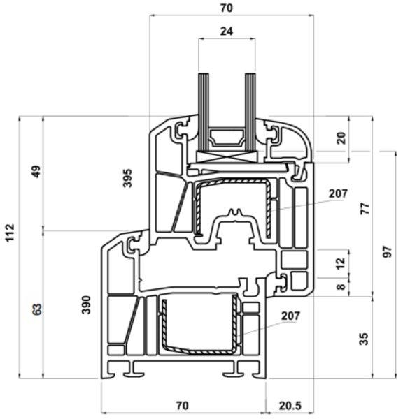 fenster fachhandel profil kb 0. Black Bedroom Furniture Sets. Home Design Ideas