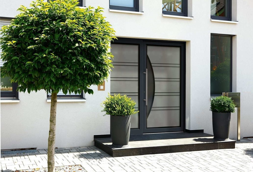 fenster fachhandel k mmerling 76mm haust ren. Black Bedroom Furniture Sets. Home Design Ideas